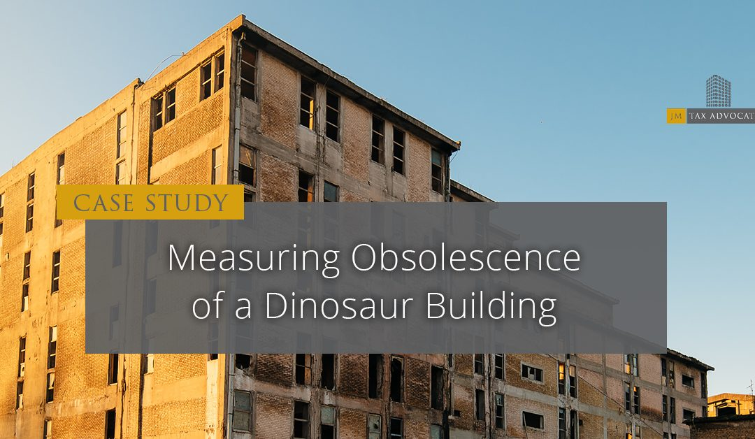 Measuring Obsolescence of a Dinosaur Building